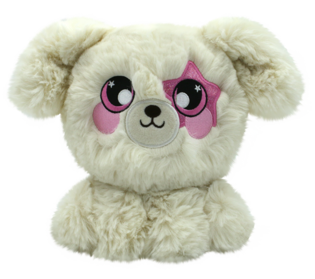 Squeezamals: S3 - Deluxe Squishy Plush (White Puppy)