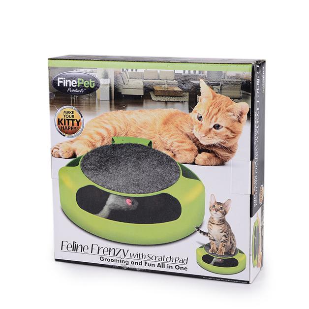 Feline Fenzy with scratch pad