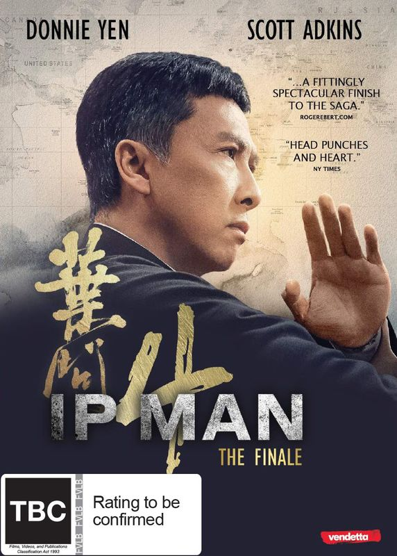 IP Man 4: The Finale on DVD