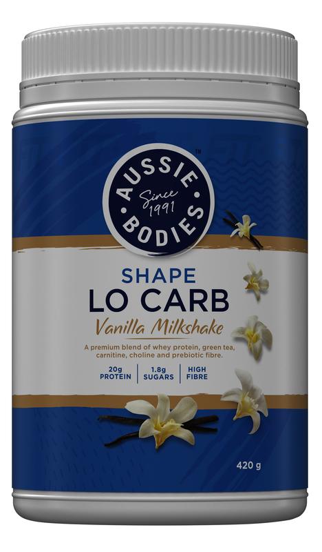 Aussie Bodies: Shape Lo Carb - Vanilla Milkshake (420g)
