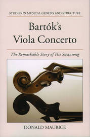 Bartok's Viola Concerto by Donald G. Maurice image