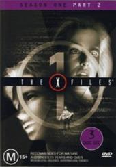X-Files, The Season 1: Part 2 (3 Disc) on DVD