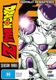 Dragon Ball Z - Season 3 on DVD