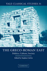 The Greco-Roman East