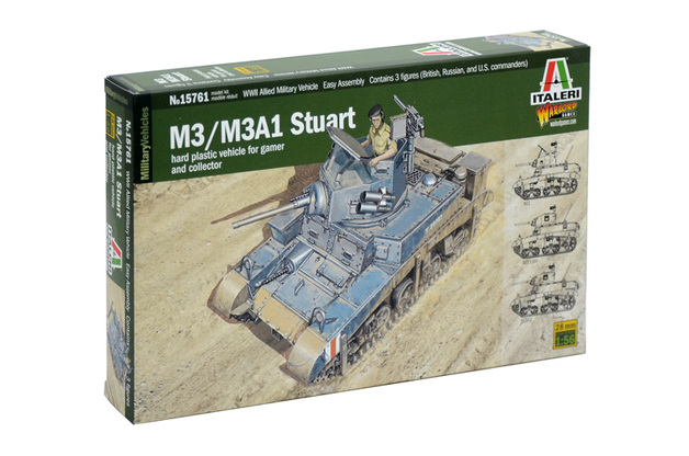 Italeri 1:56 M3 Stuart Model Kit