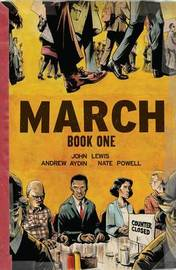 March Book One (Oversized Edition) by John Lewis