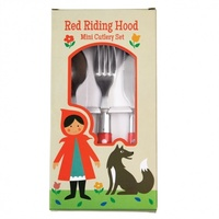 Rex Child Cutlery Set (Riding Hood)