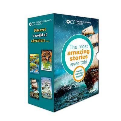 Oxford Children's Classics: World of Adventure box set by Robert Louis Stevenson image