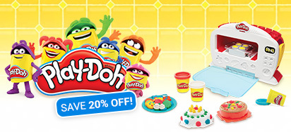 20% off Play Doh