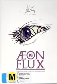Aeon Flux: The Complete Animated Collection (3 Disc) on DVD image