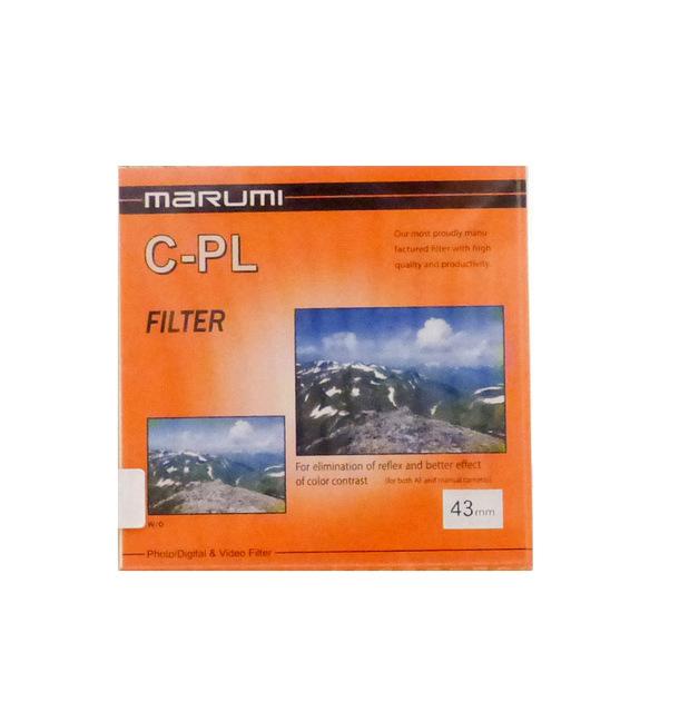 Marumi Circular Polarising Filter 43mm