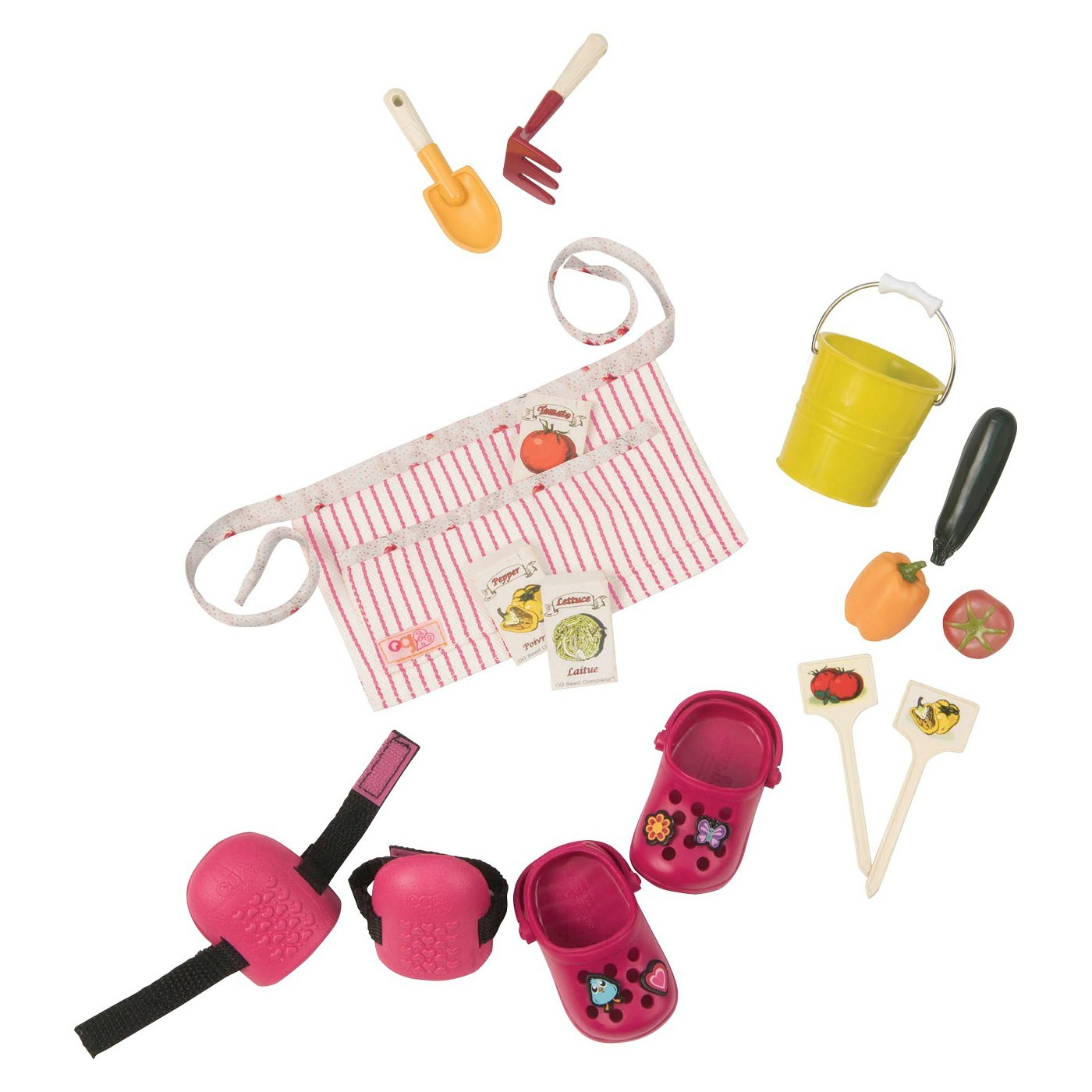 Our Generation: Read & Play Set - Nahla's Gardening Outfit image
