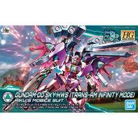 HGBD Gundam 00 Sky HWS (Trans-Am Infinity Mode) - Model Kit