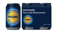Phoenix Organic Lemonade 320ml (24 Pack) image