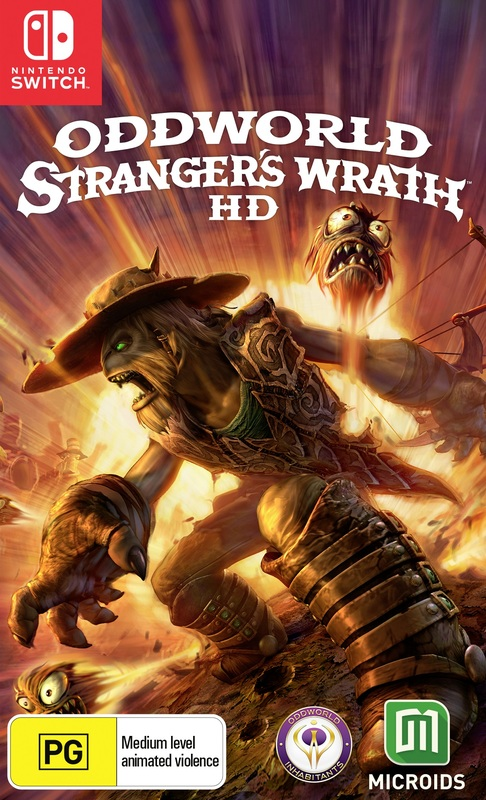 Oddworld: Stranger's Wrath for Switch