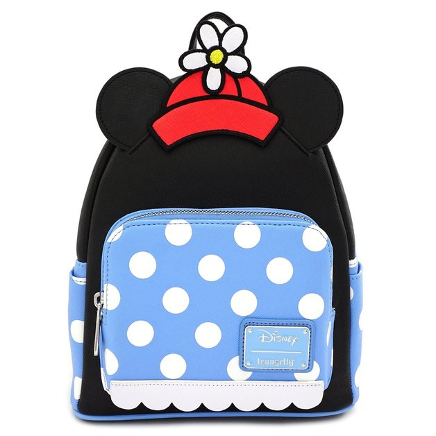 Loungefly: Mickey Mouse - Minnie Polka Dot Mini Backpack