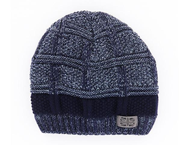 Frontier: Men's Knit Hat - Navy
