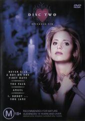 Buffy Season 1 - Disc 2 on DVD