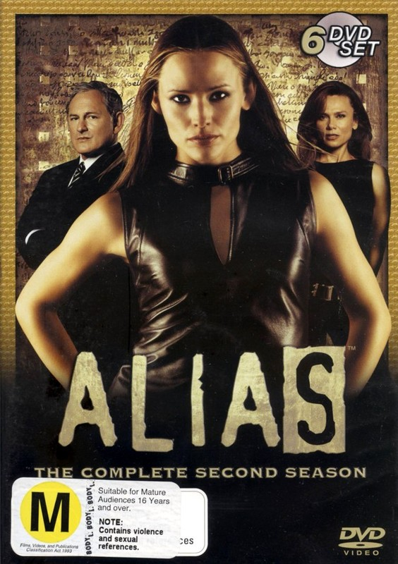 Alias - Complete Season 2 (6 Disc Slimline Set) on DVD