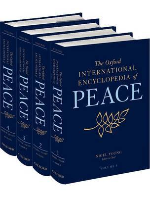 The Oxford International Encyclopedia of Peace: Four-volume set image