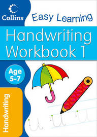 Handwriting Workbook 1: Age 5-7 by Karina Law image
