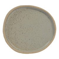 Luna Medium Plate - Grey