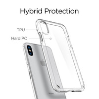 Spigen iPhone X/XS Ultra Hybrid Case Crystal Clear image