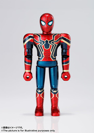 Chogokin Heroes Iron Spider (Avengers: Infinity War)e - Action Figure