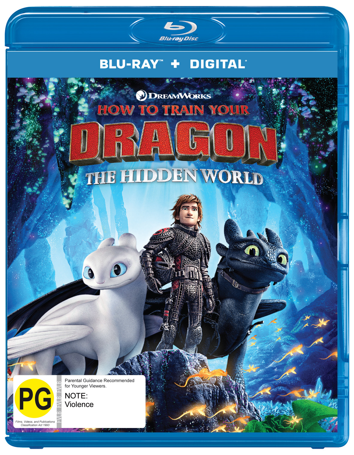 How To Train Your Dragon: The Hidden World on Blu-ray image
