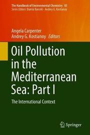 Oil Pollution in the Mediterranean Sea: Part I
