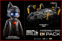 Astro Boy & Assembly Bed (Clear Version) - Deluxe Edition Pack