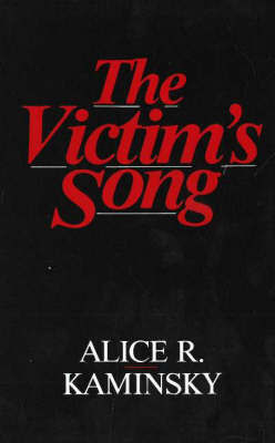 Victim's Song by Alice R. Kaminsky image