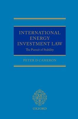 International Energy Investment Law by Peter Cameron image