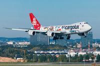 Revell 1:144 Boeing 747-8F Cargolux Cutaway