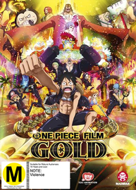 One Piece Film: Gold - Limited Edition on DVD