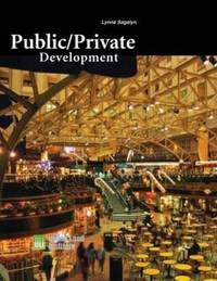 Public/Private Development by Lynne Sagalyn image
