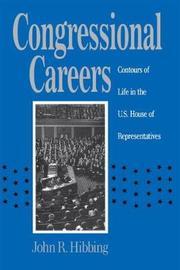 Congressional Careers by John R. Hibbing
