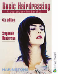 Basic Hairdressing - a Coursebook for Level 2 by Stephanie Henderson image