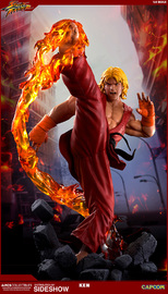 Street Fighter: Ken Masters (Dragon Flame Ver.) - 1:4 Scale Ultra Statue