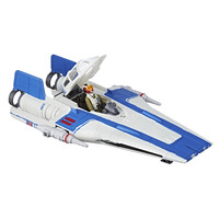 Star Wars: Force Link 2.0 - Tallie and Resistance A-Wing Fighter