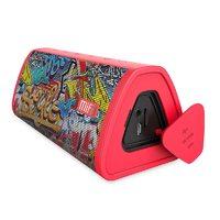 Mifa Portable Bluetooth speaker - Red Graffiti
