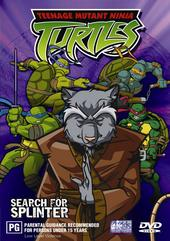 Teenage Mutant Ninja Turtles - Vol. 08: Search for Splinter on DVD