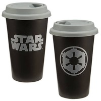 Star Wars Imperial Symbol Ceramic Travel Mug