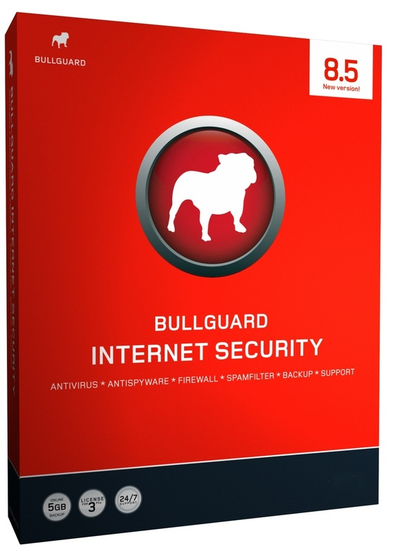 BullGuard Internet Security 8.5 - 3 User Retail Pack