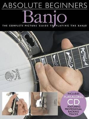 Absolute Beginners Banjo | Bill Evans Book | In-Stock - Buy