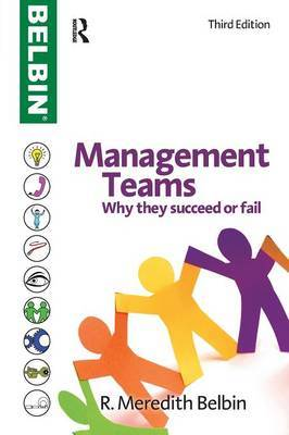 Management Teams by R.Meredith Belbin