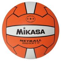 Mikasa 3550 Nylon Netball - Orange/White