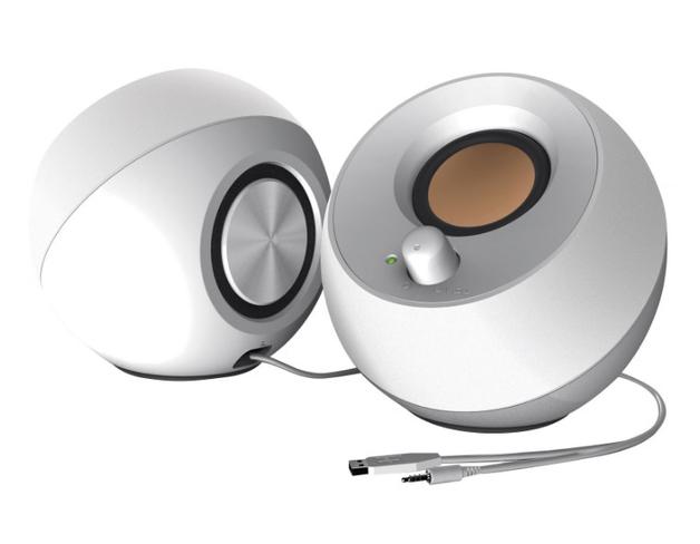 Creative Pebble 2.0 Speaker USB - White