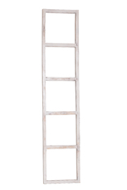 Wooden Bella Decoration Ladder (White)