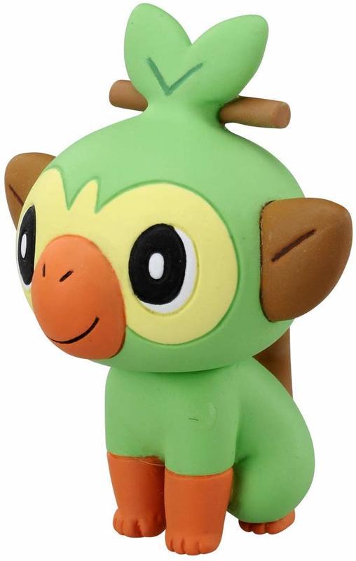 Pokemon: Moncolle: Grookey - PVC Figure